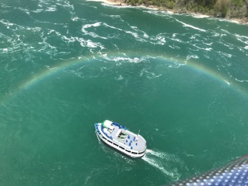 Notice the rainbow??